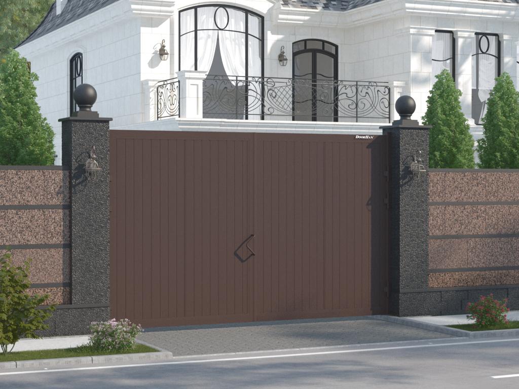 Распашные ворота 3000 x 2000